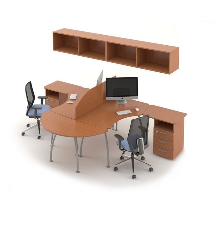 Какого размера и формы должен быть стол?