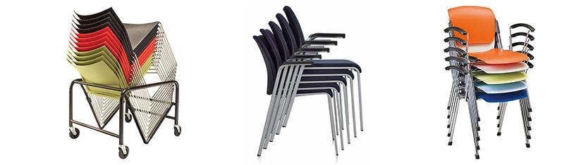 Вопрос компактности и удобство хранения. Штабелируемые стулья. Стулья АКЛАС