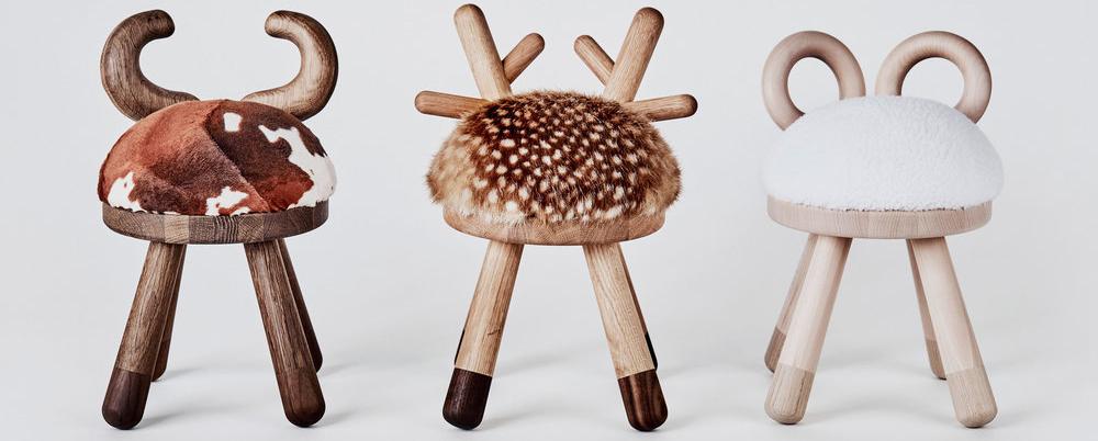 Детские стулья. Необычные табуретки в виде разных животных порадуют детей. Стулья АКЛАС