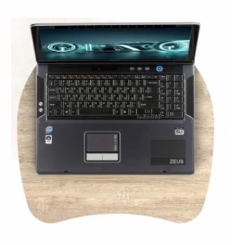 Столик для ноутбука Comfy-Home Sim 50x50 Коричневый (Орех лесной) фото-3