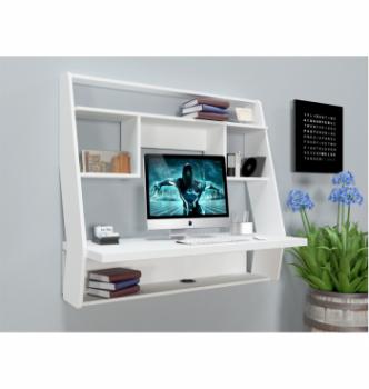 Стол навесной Comfy-Home AirTable-IІІ WT 100x50 Белый (Белый) фото-2