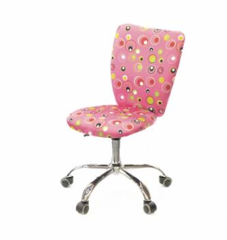 Кресло детское АКЛАС Кеви CH TILT Принтовый (Розовые пузырьки) photo-0