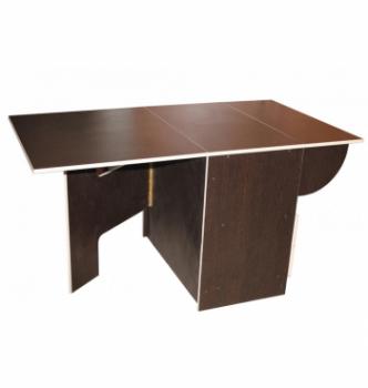 Стол книжка NIKA Мебель КМС-3 48(140)x80 Черный (Дуб Венге) фото-3