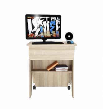 Стол для ноутбука Comfy-Home Kombi Z2 65x45 Бежевый (Сонома) фото-2