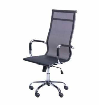 Кресло AMF Slim Net HB XH-633 Черный (Черная) photo-0