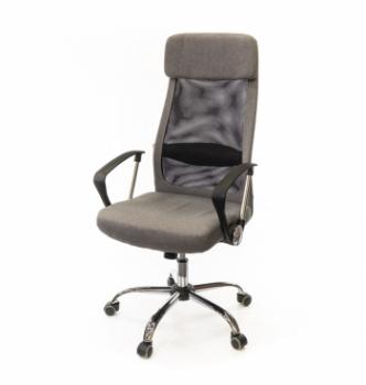 Кресло АКЛАС Гилмор FX СН TILT Серый (Серый/Черный) photo-0