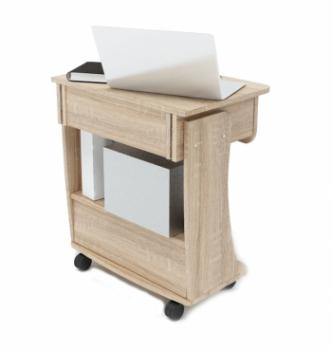 Стол для ноутбука Comfy-Home Kombi A2 65x45 Белый (Белый) фото-7