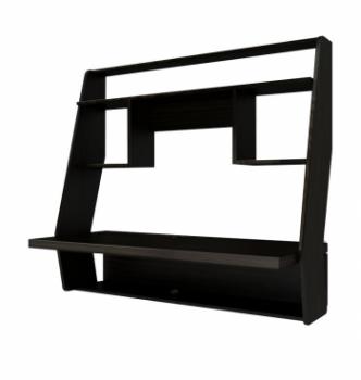 Стол навесной Comfy-Home AirTable-IІІ DB 100x50 Коричневый (Венге магия) фото-1