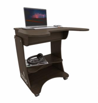 Стол для ноутбука Comfy-Home Kombi-X 76x65 Бежевый (Дуб молочный) фото-2