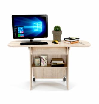 Стол для ноутбука Comfy-Home Kombi Z3 67(120)x48(63) Бежевый (Сонома) фото-8