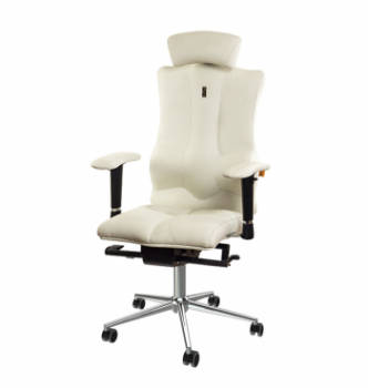 Кресло Kulik System Eleganse СН HR SR Белый (0102 white) фото-1
