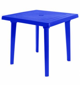 Стол Алеана Квадратный 80x80 Синий (Синий) photo-0