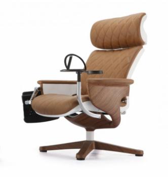 Кресло Kreslalux Nuvem Lux Бежевый (Beige) фото-1