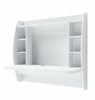 Стол навесной Comfy-Home AirTable-I WT 110x49 Белый (Белый) фото-1