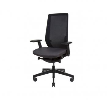 Кресло Kreslalux ACCIS PRO Черный (Black Чёрный) фото-1