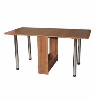 Стол книжка NIKA Мебель КМС-4 20(156)x80 Коричневый (Вишня Оксфорд) фото-2