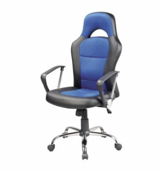 Кресло геймерское Signal Q-033 Синий (Черный/Синий) фото-1