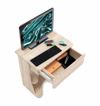Стол для ноутбука Comfy-Home Kombi A2 65x45 Белый (Белый) фото-5