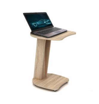 Столик для ноутбука Comfy-Home Sim 50x50 Коричневый (Орех лесной) фото-2