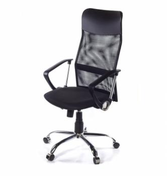 Кресло Primteks Plus Ultra Chrome Черный (C-11 M-01) photo-0