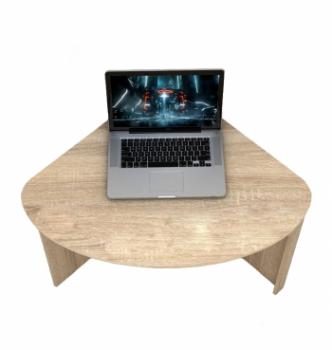 Стол для ноутбука Comfy-Home Skat 77x77 Бежевый (Сонома) фото-2