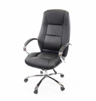 Кресло АКЛАС Оран CH ANF Черный (PU-черный) photo-0