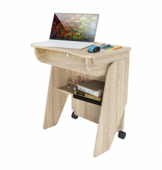 Стол для ноутбука Comfy-Home Kombi Z1 65x45 Серый (Алюминий) фото-1