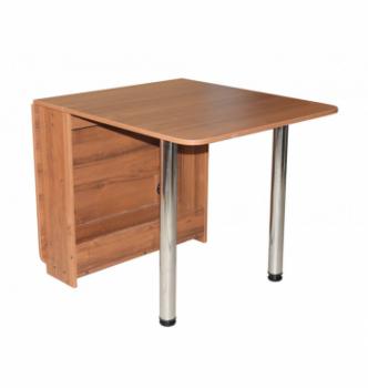 Стол книжка NIKA Мебель КМС-4 20(156)x80 Коричневый (Вишня Оксфорд) фото-3