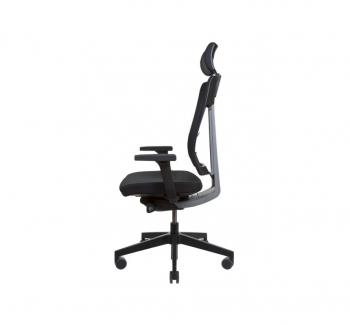 Кресло Kreslalux XENON NET Черный (Black) фото-3