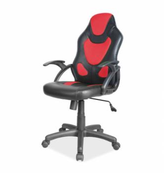 Кресло геймерское Signal Q-100 Красный (Черный/Красный) фото-1