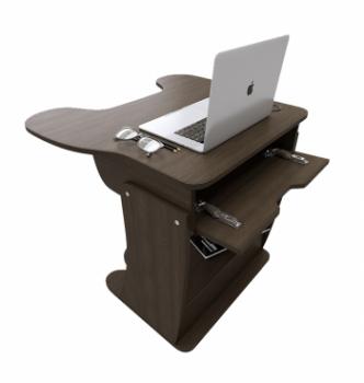 Стол для ноутбука Comfy-Home Kombi-X 76x65 Бежевый (Дуб молочный) фото-3