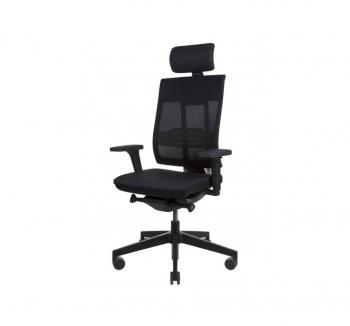 Кресло Kreslalux XENON NET Черный (Black) фото-1