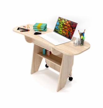 Стол для ноутбука Comfy-Home Kombi Z3 67(120)x48(63) Бежевый (Сонома) фото-1