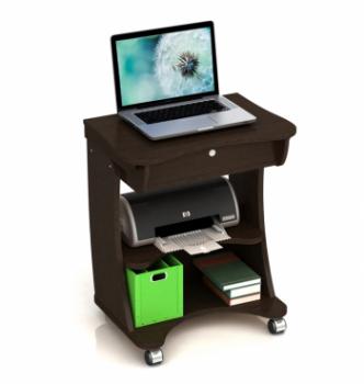Стол для ноутбука Comfy-Home Kombi 65x45 Коричневый (Яблоня) фото-4