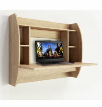 Стол навесной Comfy-Home AirTable-Eco 92x49 Бежевый (Сонома) фото-2