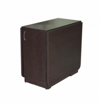 Стол книжка NIKA Мебель КМС-6 43(176)x80 Черный (Дуб Венге) фото-1