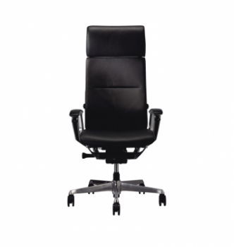Кресло Kreslalux Duke Leather  Черный (Black) фото-3