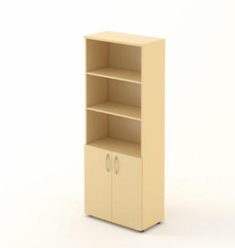 Шкаф M-Concept Серия Атрибут A4.03.21 70x37x215 Бежевый (берёза полярная ре) photo-0
