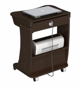 Стол для ноутбука Comfy-Home Kombi 65x45 Коричневый (Яблоня) фото-5