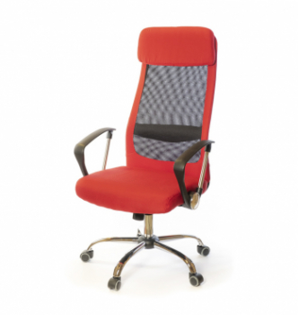 Кресло АКЛАС Гилмор FX СН TILT Красный (Красный/Черный) photo-0