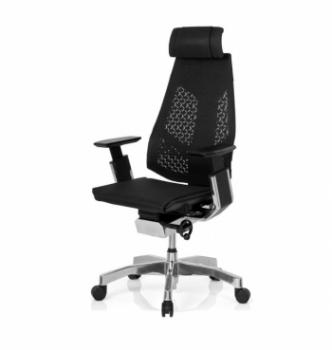 Кресло Kreslalux Genidia Mesh Черный (Black) фото-1