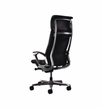 Кресло Kreslalux Duke Leather  Черный (Black) фото-4
