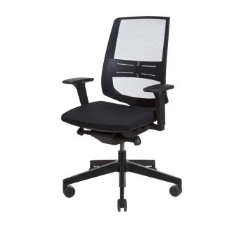 Кресло Kreslalux LIGHT UP NET Черный (Black) фото-1