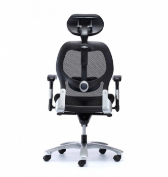 Кресло Kreslalux Eagle Seating Saturno HR Черный (Black Чёрный) фото-2