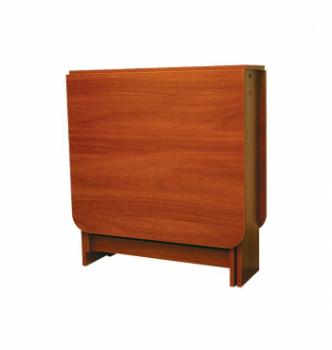 Стол книжка NIKA Мебель Ника 48/3 20(160)x80 Коричневый (Яблоня Локарно темная) фото-1