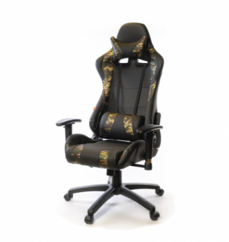 Кресло геймерское АКЛАС Хорнет CG PL RL Принтовый (Woodland) photo-0