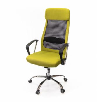 Кресло АКЛАС Гилмор FX СН TILT Желтый (Лаймовый/Черный) photo-0