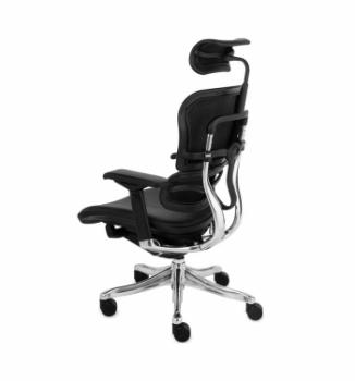 Кресло Kreslalux Ergohuman Plus AB-HAL Черный (Black) фото-3