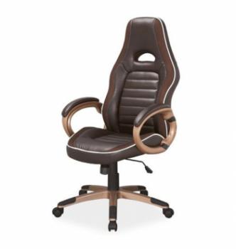 Кресло геймерское Signal Q-150 Коричневый (PU Коричневый) фото-1