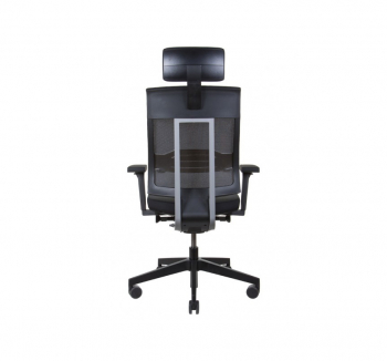 Кресло Kreslalux XENON NET Черный (Black) фото-4